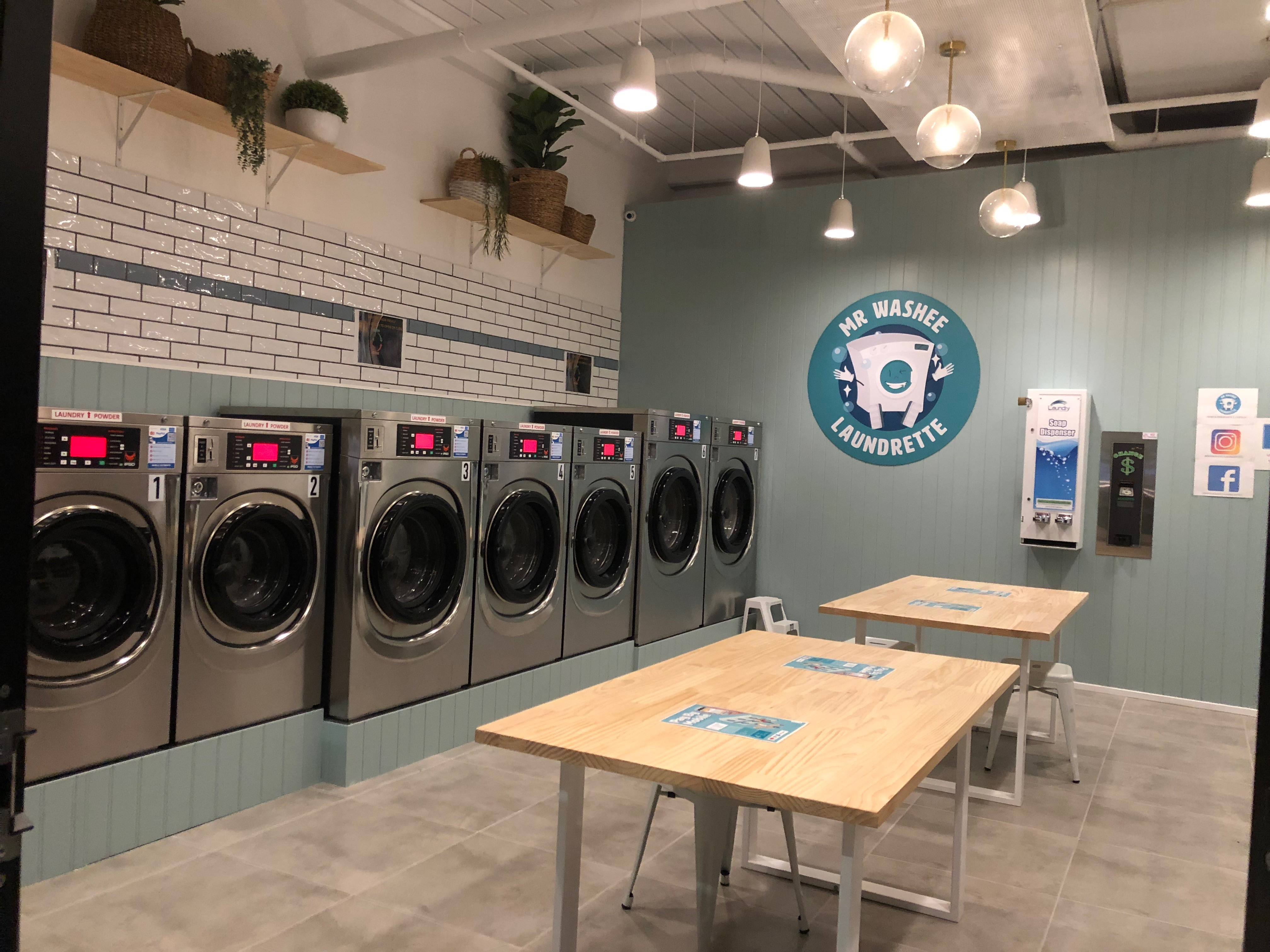Our Laundromat in Williams Landing has a total of 7 Washer of 3 different sizes